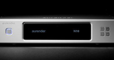 Aurender N10 – цифровой аудио плеер-стример класса референс