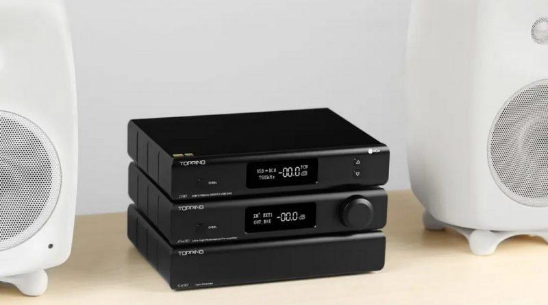 Двухмодульный предварительный усилитель Topping Pre90&Ext90 оснащен модулями NFCA