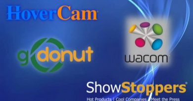 Презентация ShowStoppers: подставка GoDonut, пандемийное интеренет-демо HoverCam и технологии Wacom